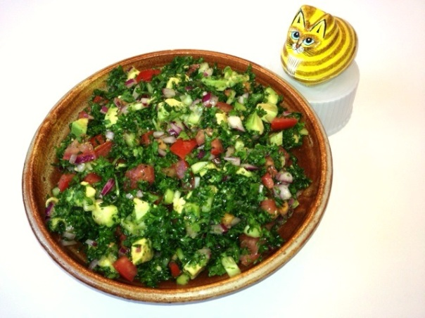 Grain-free Tabouli - An Ancestral Health Food!