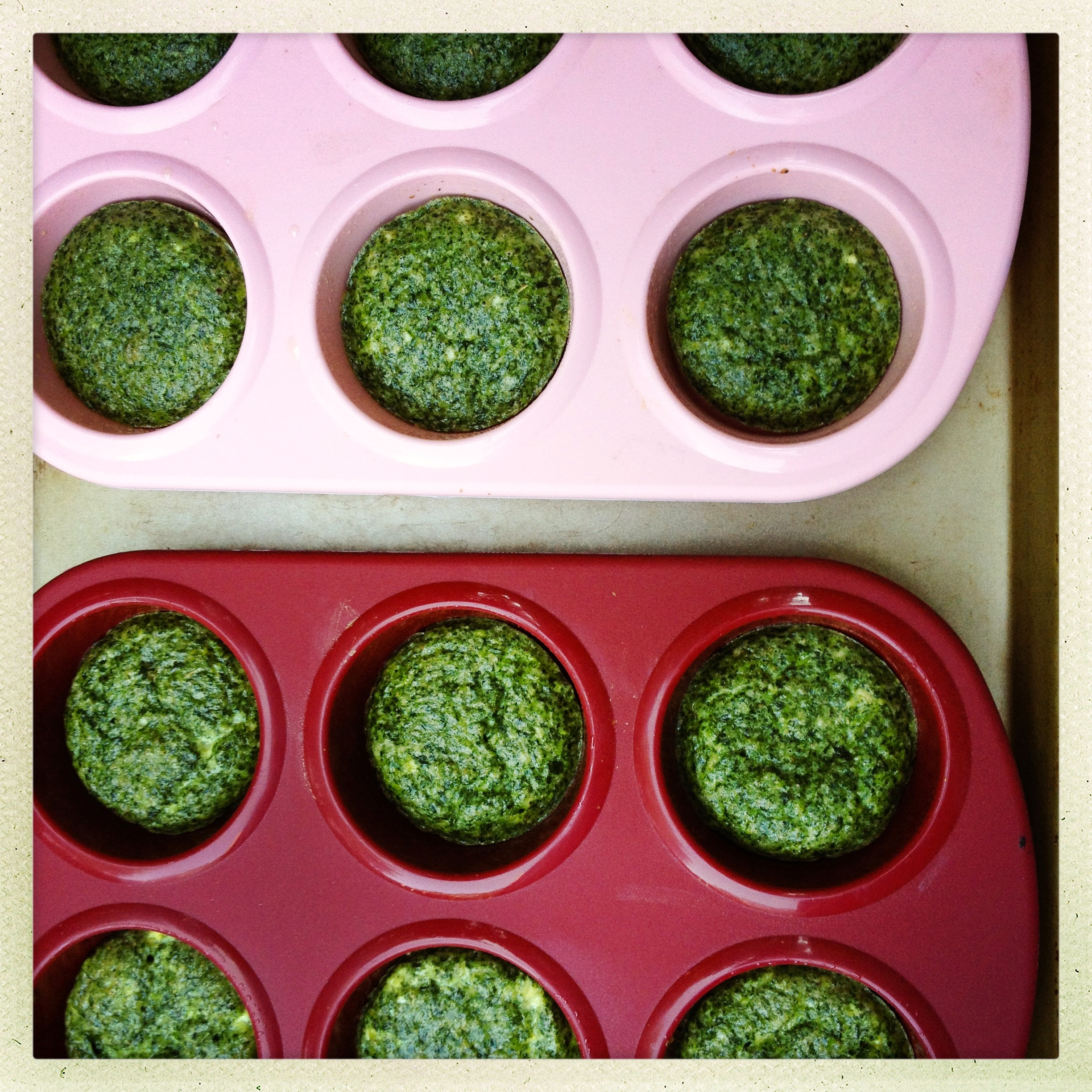 Spinach and Feta Omelet Muffins – plain and simple or stuffed into ...