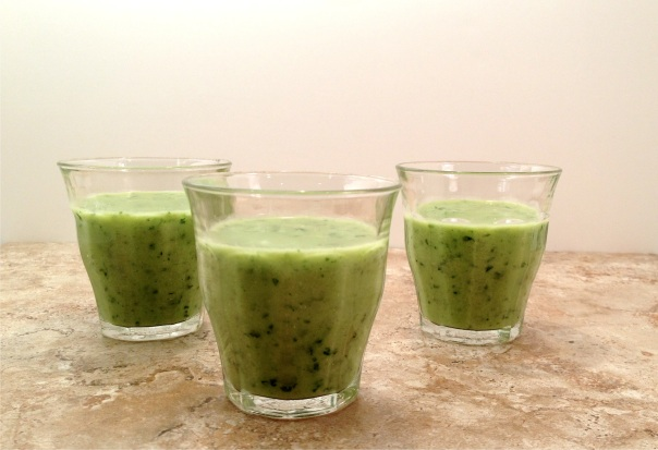 Cucumber Avocado Cilantro - A Cold Soup or Smoothie