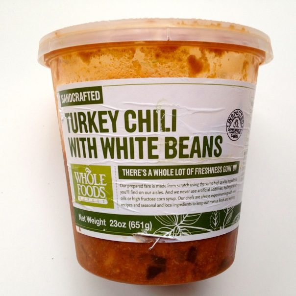 WF Turkey Chili w White Beans